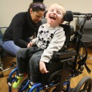 It's important for children to receive wheelchair check ups to make sure their seating system is growing along with them.