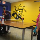 Ping pong in the Activity Room