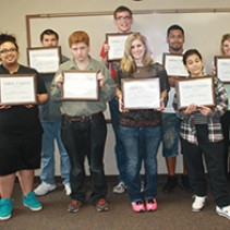 SACT Youth Program Graduating Class 2015
