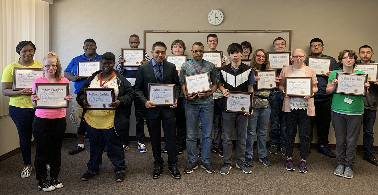 SACT Business Fundamentals For Youth Spring 2019 Class