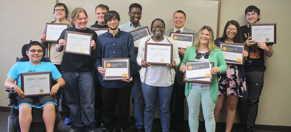 School of Adaptive Computer Training Summer 2017 Graduating Class.