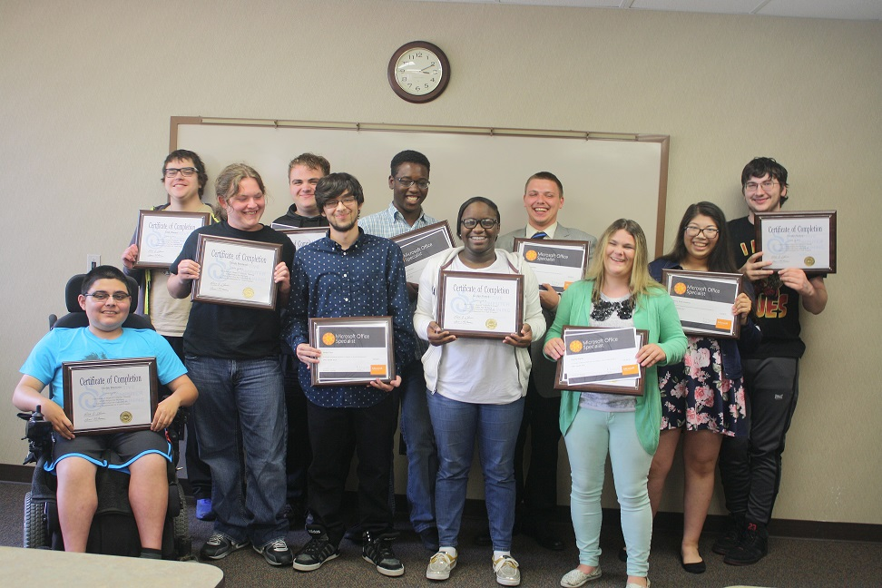 School of Adaptive Computer Training Summer 2017 Grads