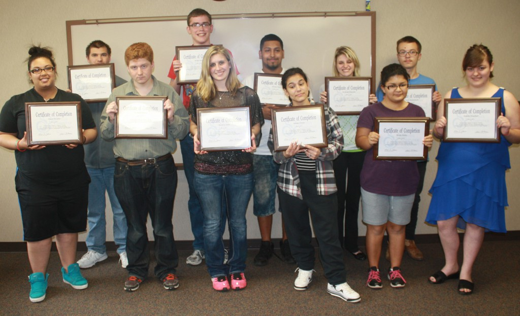 Spring 2015 Youth Program Graduates