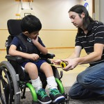 Wheelchair & Posture Seating client